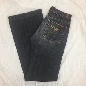 7 For All Mankind Dojo Size 28